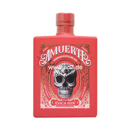 Amuerte Coca Leaf Gin RED Edition Limited 0,7l