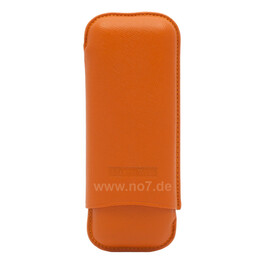 Zigarrenetui M. Wess orange Robusto 2er